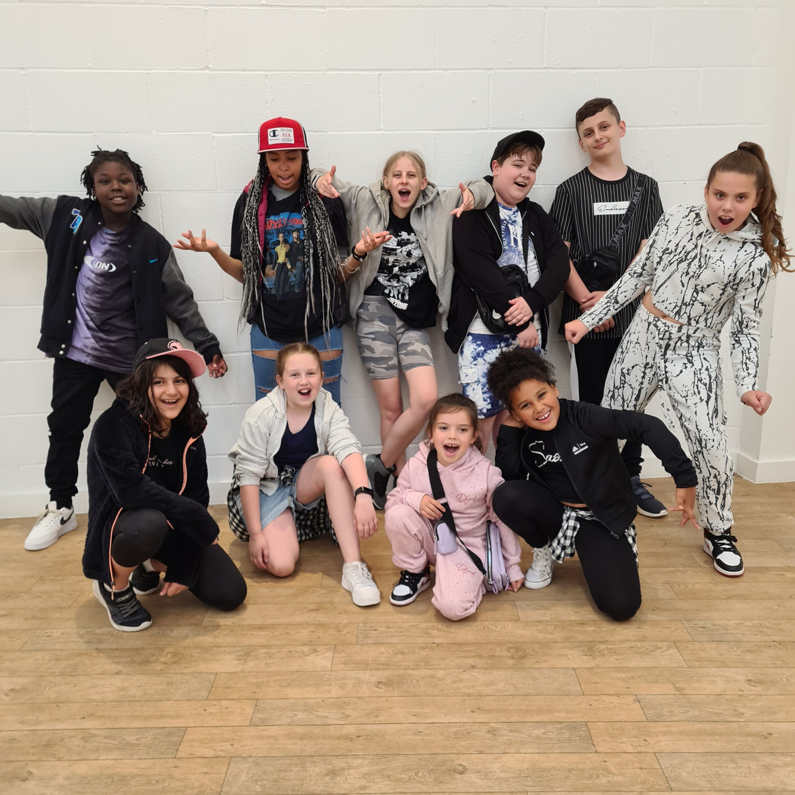Elevate dance students