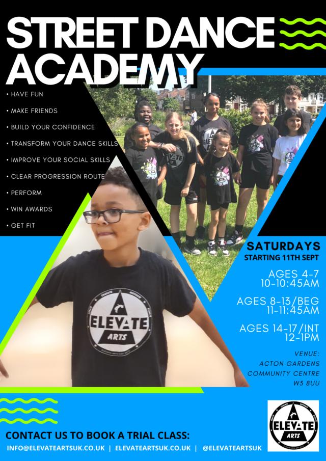 Street Dance Academy in Acton