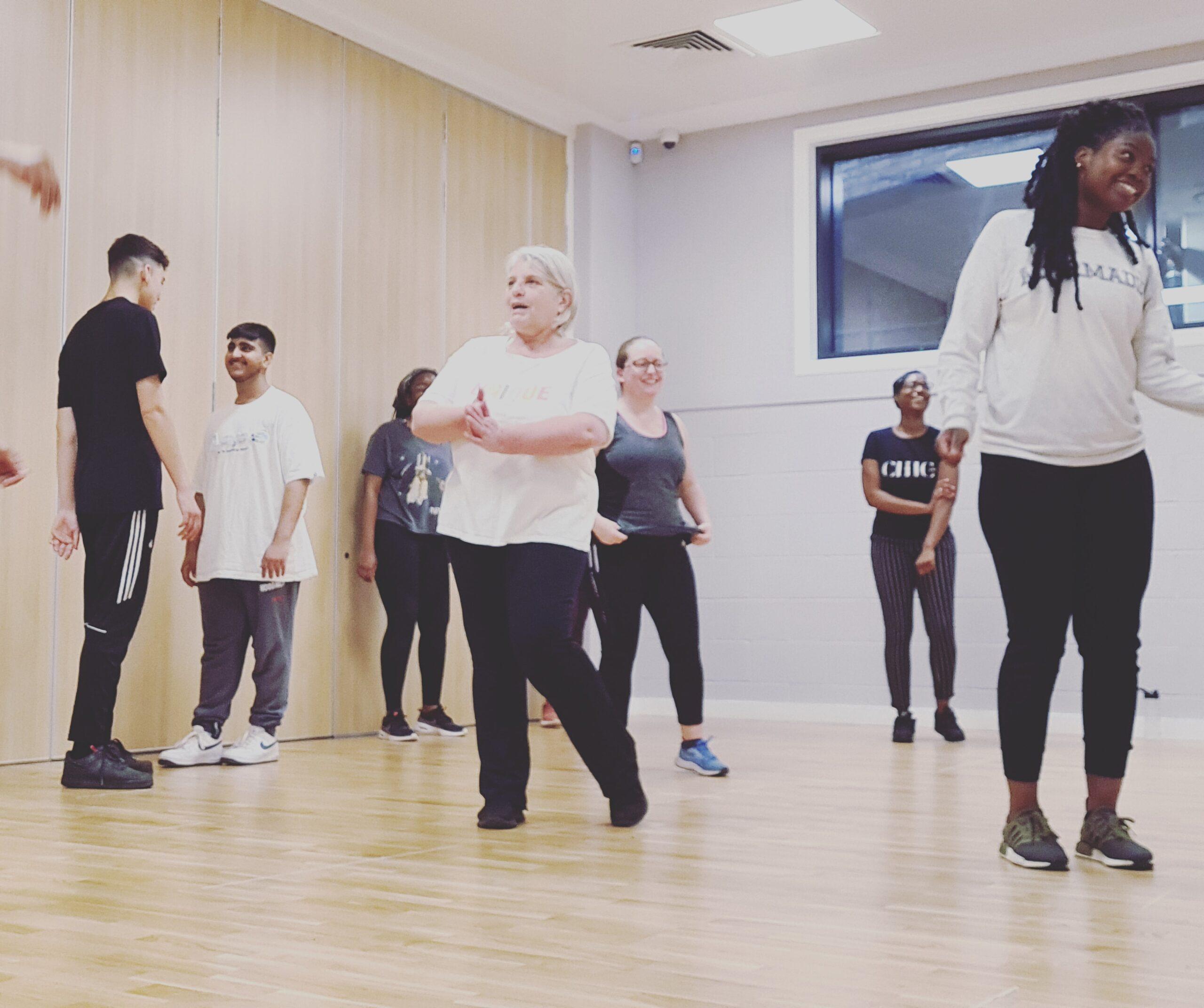 Adult dance class in Acton